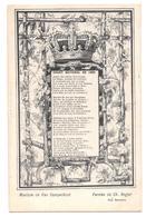 Musique De Van Campenhout Paroles De Ch Rogier Chant National De 1860 Non Circulée - Muziek