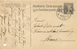 Schweiz,  5.7.1919 Postkarte Alosen Oberägeri Nach Stans, Siehe Scans! - Cartas