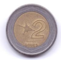 PERU 1995: 2 Nuevos Soles, KM 313 - Peru
