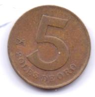 PERU 1978: 5 Soles De Oro, KM 271 - Peru