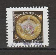 """FRANCE / 2019 / Y&T N° AA 1786 : """"Merveilles-Assiettes"""" (Limoges) - Choisi - Cachet Rond - Autoadesivi"""