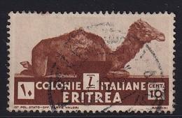 Eritrea 1933, Animal Minr 206 Vfu - Eritrea