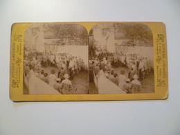 CPA / Carte Postale Ancienne Stéréoscopique / Scènes Animées B K éditions Paris - Photos Stéréoscopiques