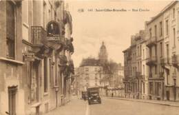 Belgique - Saint-Gilles -  Bruxelles - Rue Courbe - Cigarettes N. Gianaclis - Tabac Verellen (Anvers) - Calion - St-Gilles - St-Gillis