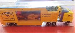 Truck Camel Team Lotus - D. Warwick - M. Donnely - Majorette - 1/60 - RARE - Camions, Bus Et Construction