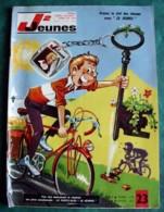 JOURNAL COEURS VAILLANTS - J2 JEUNES N° 23 - 1966 - BD - Magazines Et Périodiques