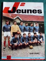 JOURNAL COEURS VAILLANTS - J2 JEUNES N° 27 - 1966 - BD - Magazines Et Périodiques
