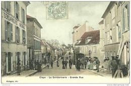 77 - CLAYE SOUILLY / LA GENDARMERIE - GRANDE RUE - Claye Souilly