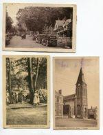 02 LE NOUVION En THIERACHE 3 Cartes Automobiles Maison Forestiere Place Eglise  La Foret La Plage   Animatio   D10 2020 - Autres Communes