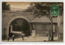 13 MARSEILLE  Quartier SAINT ST BARTHELEMY Le Pont De La Gare Anim Rue  No 2 Edit I.P  écrite En 1921    D10 2020 - Altri