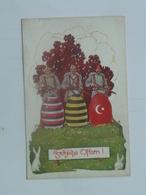 Red Cross 5457  Rotes Kreuz  Nr 52-1 Turkie Ostern - Croce Rossa