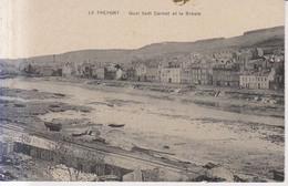 Le Treport Quai Sadi Carnot Et La Bresle - Le Treport