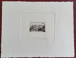 •PHI EPA FRANCE épreuve D'artiste En Sépia N°916, 40 Fr Le Pic Du Midi De Bigorre, Signé Raoul Serres - Epreuves D'artistes