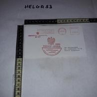FB1069 AFFRANCATURA MECCANICA ROSSA UNDOF SYRIA 1993 XXXVIII ZMIANA POLSKI KONTYNGENT WOJSKOWY - Machine Stamps (ATM)