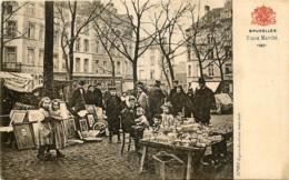 Bruxelles - Le Vieux Marché Place Du Jeu De Balle - Mercati