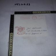 FB1070 AFFRANCATURA MECCANICA ROSSA UNTAC 1992-1993 POLSKY KONTYNGENT WOJSKOWY POCZTA POLOWA - Machine Stamps (ATM)