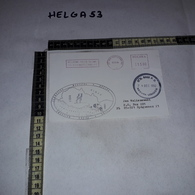 FB1072 AFFRANCATURA MECCANICA ROSSA U.N. BASE P.O. NAQURA LEBANON 1992 JEDNOSTKA MEDYCZNA POLCON - Machine Stamps (ATM)