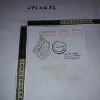 FB1074 AFFRANCATURA MECCANICA ROSSA U.N. BASE P.O. NAQURA LEBANON 1996 UNIFIL HOSPITAL IX ZMIANA NAQURA SOUTH LEBANON - Machine Stamps (ATM)