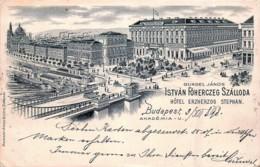 Hongrie - Budapest - Hôtel Erzherzog Stephan - Hungary