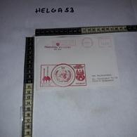 FB1076 AFFRANCATURA MECCANICA ROSSA GOLAN UN POLSKI KONTYNGENT WOJSKOWY POLBATT - Machine Stamps (ATM)