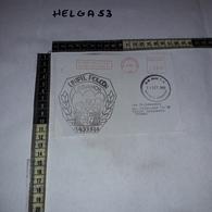 FB1077 AFFRANCATURA MECCANICA ROSSA UNIFIL POLCON LEBANON NAQURA - Machine Stamps (ATM)