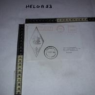FB1078 AFFRANCATURA MECCANICA ROSSA U.N. BASE P.O. NAQURA LEBANON 1993 POLSKA WOJSKOWA JEDNOSTKA - Machine Stamps (ATM)