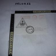 FB1079 AFFRANCATURA MECCANICA ROSSA UNIFIL POLLOG LEBANON U.N. BASE P.O. 1996 NAQURA LEBANON - Machine Stamps (ATM)