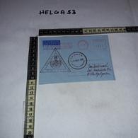 FB1080 AFFRANCATURA MECCANICA ROSSA UNIFIL POLLOG LEBANON U.N. BASE P.O. 1996 NAQURA LEBANON AEROGRAMME - Machine Stamps (ATM)
