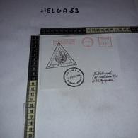 FB1082 AFFRANCATURA MECCANICA ROSSA UNIFIL POLLOG LEBANON U.N. BASE P.O. 1996 NAQURA LEBANON AEROGRAMME - Machine Stamps (ATM)
