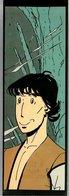 Marque-page Les Boutiques Circus (Glénat 1988) Philippe Berthet Le Marchand D'idées - Bookmarks