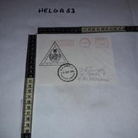 FB1083 AFFRANCATURA MECCANICA ROSSA UNIFIL POLLOG LEBANON U.N. BASE P.O. 1996 NAQURA LEBANON AEROGRAMME - Machine Stamps (ATM)