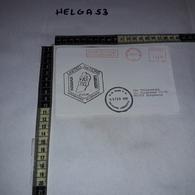 FB1084 AFFRANCATURA MECCANICA ROSSA UNITED NATIONS POLICE LIBAN INTERIM FORCE IN LEBANON 1994 U.N. BASE P.O. 1995 NAQURA - Machine Stamps (ATM)