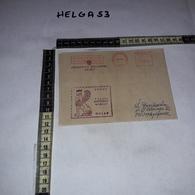 FB1085 AFFRANCATURA MECCANICA ROSSA JEDNOSTKA WOJSKOWA NR 5577 UNDOF POLSKI KONTYNGENT WOJSKOWY GOLAN - Machine Stamps (ATM)