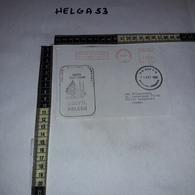 FB1086 AFFRANCATURA MECCANICA ROSSA POLISH MILITARY HOSPITAL UNIFIL POLCON NAQURA SOUTH LEBANON U.N. BASE P.O. 1993 - Machine Stamps (ATM)