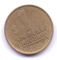 URUGUAY 2005: 1 Peso, KM 103 - Uruguay