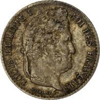 Monnaie, France, Louis-Philippe, 1/4 Franc, 1841, Lille, TTB, Argent - France