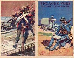 """Militaire -- (ENGAGEZ -VOUS) ; """"Publicité De Recrutement Entre Les Deux Guerres"""" - - Documents Historiques"""