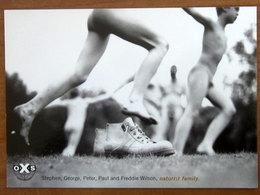 OXS Scarpe Naturist Family - Nudo CARTOLINA Pubblicità Citrus 0161 - Advertising