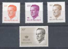 NB - [152359]TB//**/Mnh-N° 2124/27, Type Velghe Dont Grand Format, Papier épacar, Gomme Blanche, SC, SNC - 1981-1990 Velghe