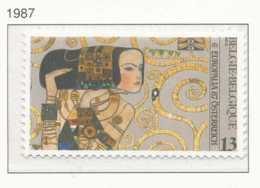 NB - [152686]TB//**/Mnh-N° 2247, Europalia 87, Autriche, Maison Stoclet, Tableau 'L'Attente' De Gustav Klimt, SNC - Neufs