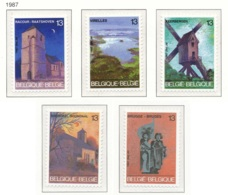 NB - [152703]TB//**/Mnh-N° 2254/58, Tourisme, Lieux, Moulins, Statue, SC, SNC - Neufs