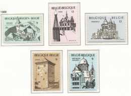 NB - [152787]TB//**/Mnh-N° 2288/92, Tourisme, Sites Et Monuments, Basiliques, SC, SNC - Neufs