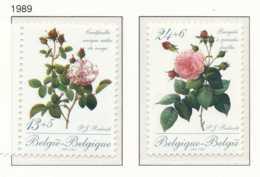 NB - [152864]TB//**/Mnh-N° 2318/19, Fleurs, Roses De Redouté, Centfeuille Et Bengale, SC, SNC - Neufs