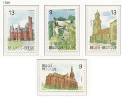 NB - [152891]TB//**/Mnh-N° 2328/31, Tourisme, églises Et Châteaux, SC, SNC - Neufs