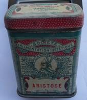 Boîte échantillon Tôle Lithographiée Farine Maltée JAMMET Aristose - Boxes