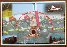 Firefighters - Vigili Del Fuoco - Elicottero CARTOLINA Non Viaggiata - Regiments