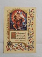 """(U2) Mediatrix -Genval """"Le Seigneur Est Vraiment Ressucité , Alléluia """" ST LUC, 24,34 : Illustré Par M.Amsens. - Easter"""
