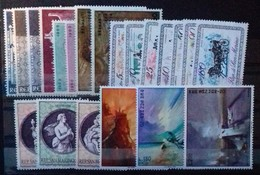SAINT-MARIN ANNEE COMPLETE 1969 COTE 6,95 € NEUFS ** MNH  21 VALEURS (N° 732 Et 733 NEUFS * MH) - San Marino