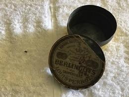 Boîte Vide Ancienne Bonbons Digestif Berlingot Carpentras Louis Pérot - Boxes