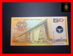 PAPUA NEW GUINEA 50 Kina  2002  P. 18 C   POLYMER UNC - Papua New Guinea